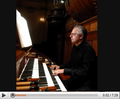 Leo van Doeselaar at the Schnitger organ
